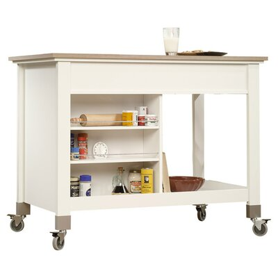 Sauder Miscellaneous Storage Kitchen Island with..