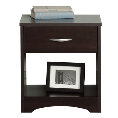 Sauder Beginnings 1 Drawer Nightstand