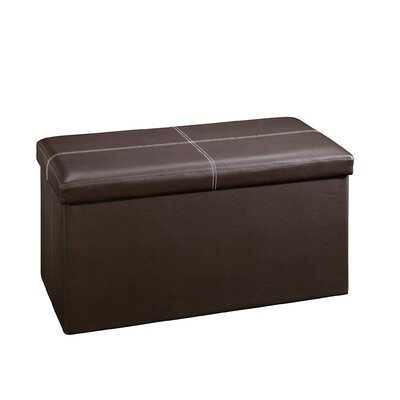 Sauder Beginnings Upholstered Storage Ottoman