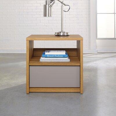 Sauder Soft Modern 1 Drawer Nightstand