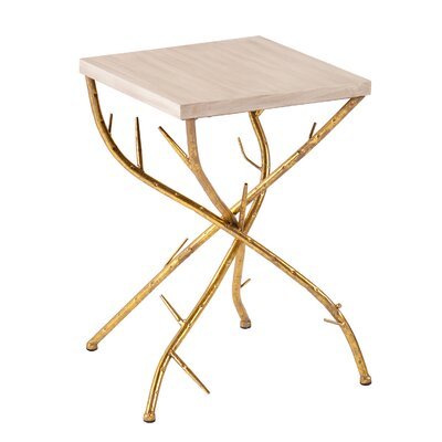 Wildon Home ® Nevaeh Branch End Table