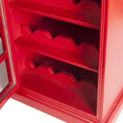 Wildon Home ® 12 Bottle Floor Wine Cabinet