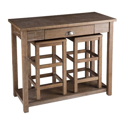 Wildon Home ® Allen 3 Piece Pub Table Set
