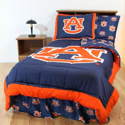 college covers ncaa auburn bed in a bag collection