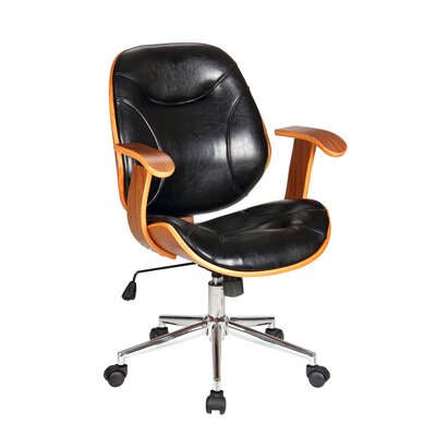 Boraam Industries Inc Rigdom Desk Chair with Arms