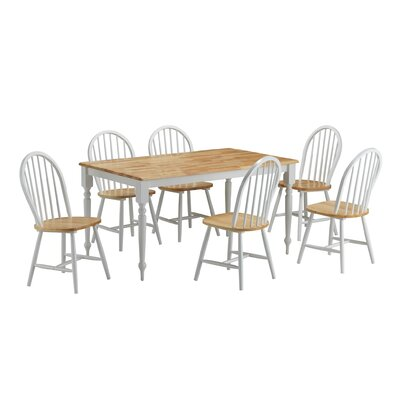 August Grove Bella 7 Piece Dining Set
