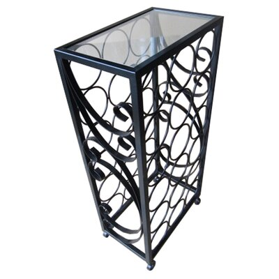 Pangaea Home and Garden 18 Bottle Floor Wine Rack