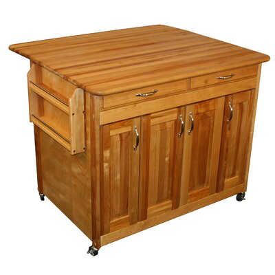 Catskill Craftsmen, Inc. Kitchen Island with Woo..