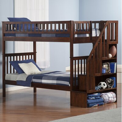 Atlantic Furniture Woodland Twin Bunk Bed