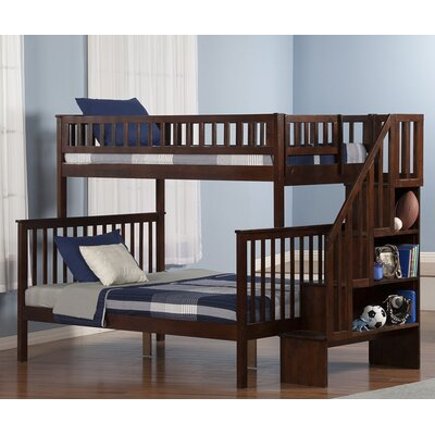 Atlantic Furniture Woodland Twin over Full Bunk Bed