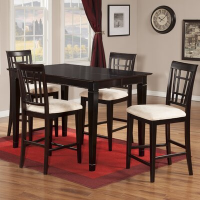 Darby Home Co Bluffview 5 Piece Counter Height Dining Set