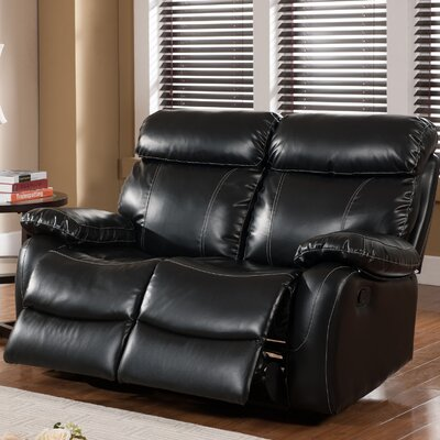 Primo International Chateau Leather Reclining Loveseat
