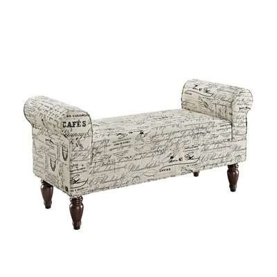 Linon Lillian Upholstered Bedroom Bench