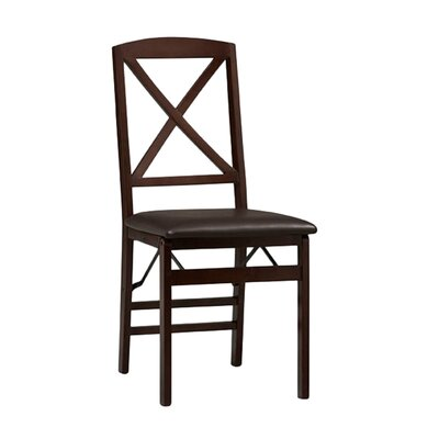 Andover Mills Clarke X Back Side Chair (Set of 2)
