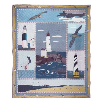 Patch Magic Lighthouse By Bay Quilt Amp Reviews Wayfair