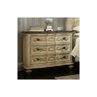 American Drew Jessica Mcclintock Boutique 3 Drawer Bachelor's Chest