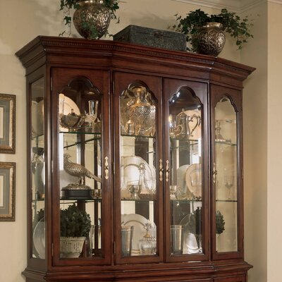 American Drew Cherry Grove China Cabinet Top