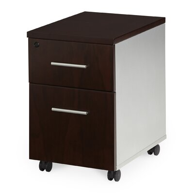 AICO AOS OFFICE Prevue 2-Drawer Mobile..