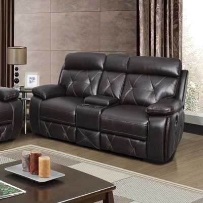 Red Barrel Studio New South Leather Reclining Lo..