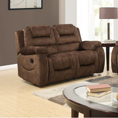 Red Barrel Studio Blocher Reclining Loveseat