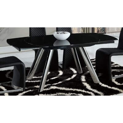 Wade Logan Whitney Extendable Dining Table