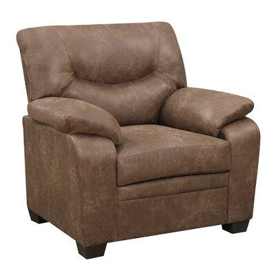 Loon Peak Evaro Plush Lounge Chair