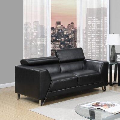 Global Furniture USA Adjustable Headrest Loveseat