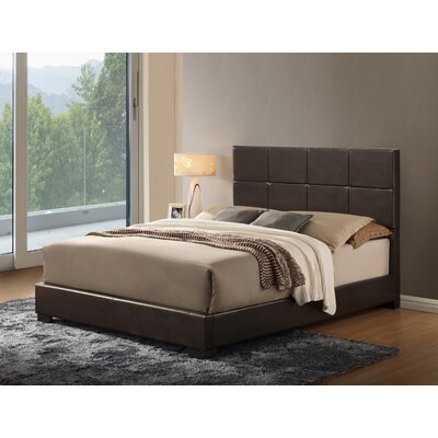 Global Furniture USA Twin Upholstered Panel Bed