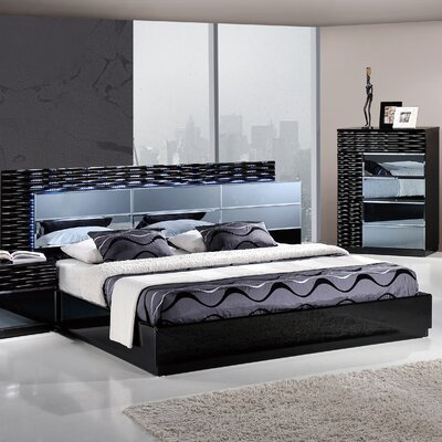 Global Furniture USA Manhattan Panel Bed