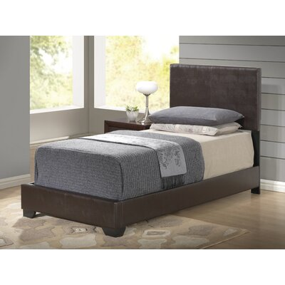Global Furniture USA Upholstered Platform Bed