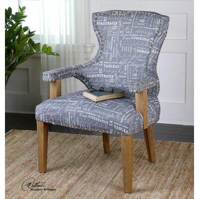Uttermost Citographie Linen Armchair