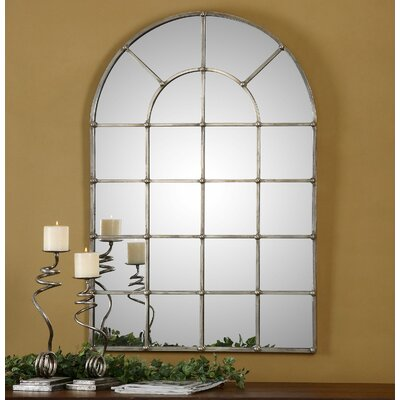 Uttermost Barwell Arch Window Wall Mirror
