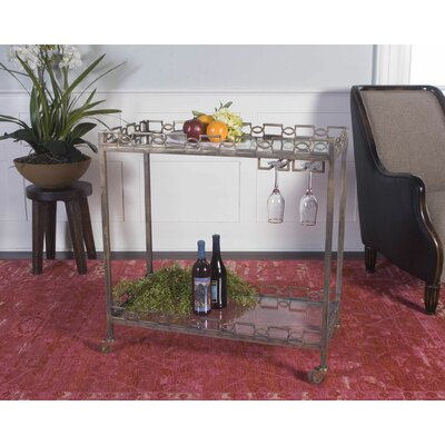 House of Hampton Fenella Serving Cart