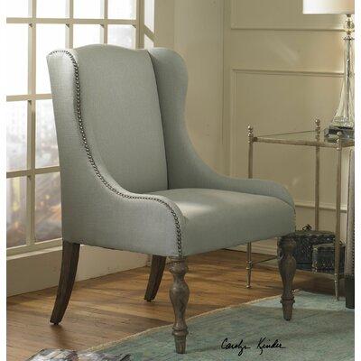 Uttermost Filon Wing Arm Chair