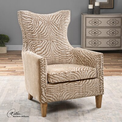 Uttermost Kiango Animal Arm Chair