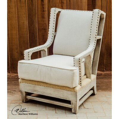 Uttermost Schafer Arm Chair