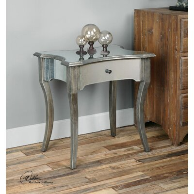 Uttermost Jovannie Mirrored End Table