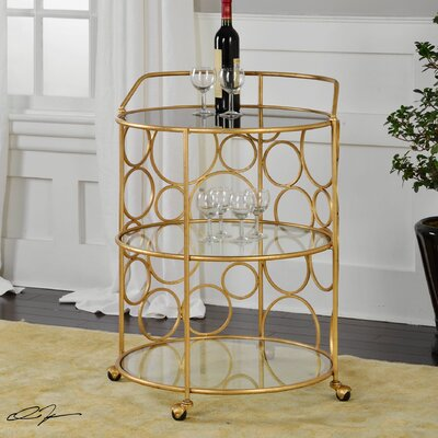 Mercer41 Estella Serving Cart