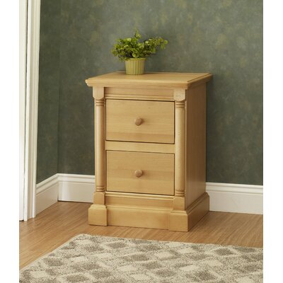 Orbelle Trading Imperial 2 Drawer Nightstand