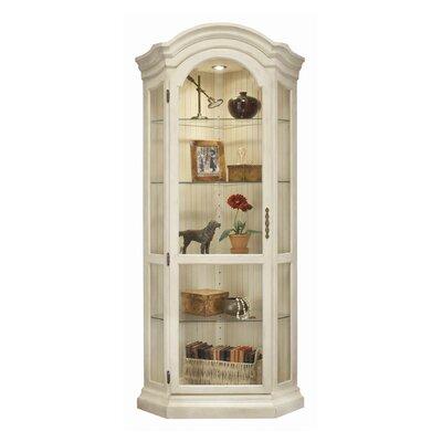 Colortime Panorama Corner Curio Cabinet Reviews Wayfair