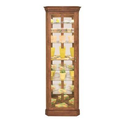 Philip Reinisch Co. Lighthouse Octave Corner Curio Cabinet