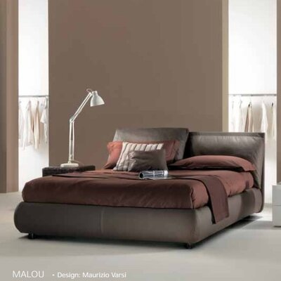 Bontempi Casa Upholstered Platform Bed