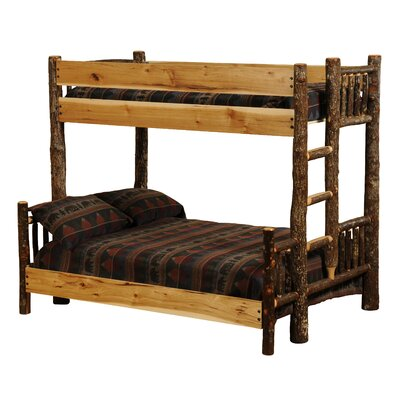 Fireside Lodge Hickory Twin over Queen Bunk ..