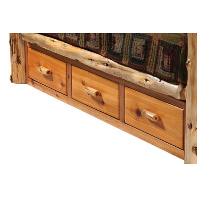 Fireside Lodge Cedar Storage Drawers