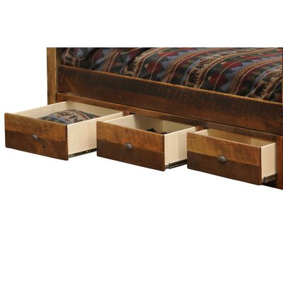 Fireside Lodge Barnwood Storage Drawers