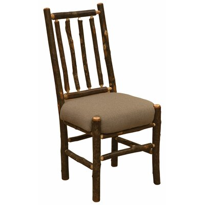 Fireside Lodge Hickory Bistro Upholstered Side Chair