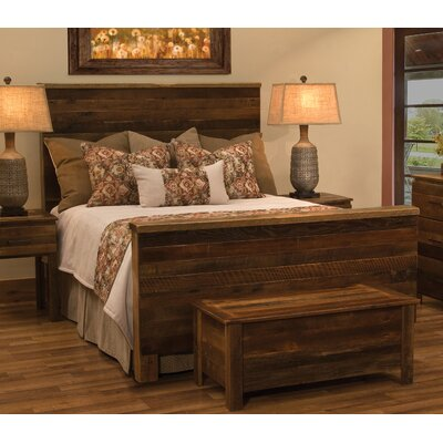 Fireside Lodge Barnwood Uptown Panel Bed