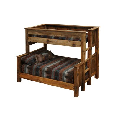 Fireside Lodge Barnwood Bunk Bed