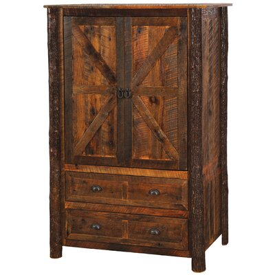 Fireside Lodge Barnwood Wardrobe