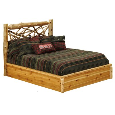 Fireside Lodge Cedar Platform Bed